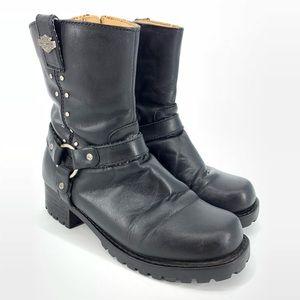 Harley Davidson Harness Womens Boots